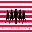 american business womens day vector image vector image