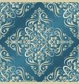 baroque seamless pattern vintage ornamental vector image