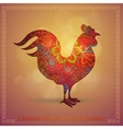 Chinese new year greeting card vector image vector image