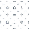 elements icons pattern seamless white background vector image vector image