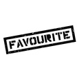 Favourite rubber stamp vector image vector image