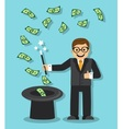 Magic in Business vector image vector image