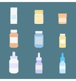 Set of meds icons Medicine vector image