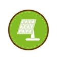 solar panel renewable energy alternative green vector image