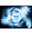 Blue Circle abstract backgrounds vector image