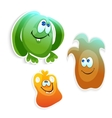 Funny monsters vector image