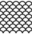 black steel grating wave seamless structure vector image