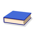 book icon with shadow vector image vector image