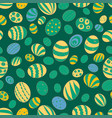 for the holiday of easter pattern vector image vector image