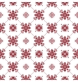 Seamless christmas patterns vector image vector image