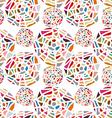 Seamless mosaic texture vector image vector image