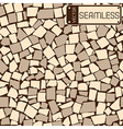 seamless texture ivory and grey tiles wall vector image vector image