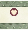 Valentines Heart Card vector image vector image