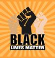 blacklivesmatter vector image