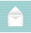 envelope icon design vector image