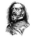 general george g meade vintage vector image vector image
