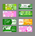 Gift voucher template pack can be use for