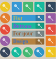 Kitchen appliances icon sign Set of twenty colored vector image vector image