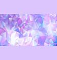 pastel bright purple low poly backdrop design vector image