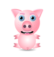 pig or piglet vector image
