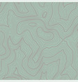 topographic line contour map background vector image vector image