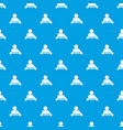 web friends pattern seamless blue vector image