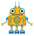 Cartoon cute robot vector image