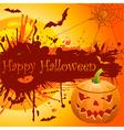 grunge halloween vector image vector image
