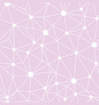 pastel pink network web texture seamless pattern vector image vector image