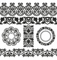 patterns set2 vector image vector image
