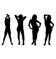 Poses vector image vector image