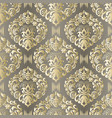 seamless damask pattern fabric swatch indian vector image