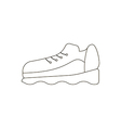 Sneakers shoes icon vector image vector image