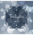 Stock fuzzy texture with bokeh effect and frame vector image