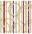 trendy seamless pattern vector image vector image