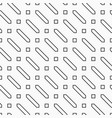 abstract seamless pattern hexagons and squares vector image vector image