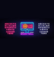 basketball live neon sign basketball vector image vector image