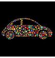 car shape vector image vector image