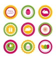 Cupcake toppers for Easter vector image