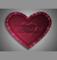 love valentines day declaration of love vector image vector image