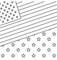 national emblem american flag vector image vector image