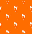 palm pattern seamless vector image vector image