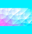 pastel bright pink and turquoise low poly backdrop vector image vector image