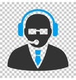 Support Manager Icon vector image vector image