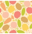 Yummy vegetables seamless pattern background vector image vector image