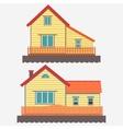 House facade vector image