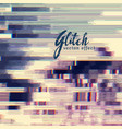 abstract glitch background of digital corrupt vector image vector image