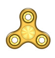 fidget finger spinner icon vector image