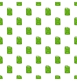 Green fuel canister pattern cartoon style vector image vector image
