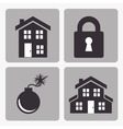 insurance security design vector image vector image